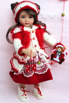 Winter Valentine Outfit 👀🎈👀🎈👀  #littledarlings #Tiny_MiniMe #EffnerLittleDarlings #Effner #Dollstagram #OOAK #vinyldoll #effnerdoll #dollphotos #dollphotography #littledarling #kayla #dollcollection #dollstyle #outfitfordoll