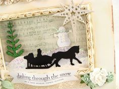 christmas shadow box projects - Bing Images: Kaisercrafties