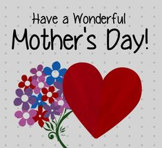 Free online Mother's Day Paper Heart ecards on Mother's Day Happy Mothers Day Daughter, Happy Mothers Day Pictures, Happy Mothers Day Wishes, Mothers Day Weekend, Mothers Day Ecards, Mothers Day Poems, Mothers Day Flowers, Happy Mother's Day Gif, Happy Mother's Day Card