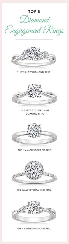 Our top engagement rings are hand-crafted from recycled precious metals, and set with beyond conflict free diamonds. These top diamond engagement rings are as pure as your love.
