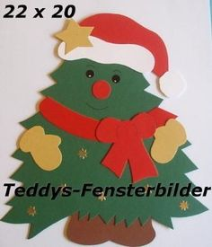 Znalezione obrazy dla zapytania basteln mit tonpapier weihnachten