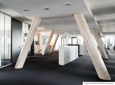 #Gaertner Internationale #Moebel #Projekt #Kanzlei #Buero #Lounge #Foyer #Pantry