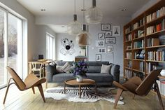 Octo pendant by Secto Design, Finland. What a beautiful home. www.fredishere.com.au