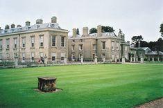 Closer view of Althorp House where Diana grew up.
