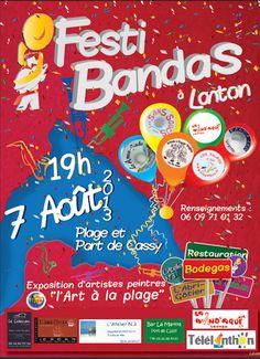 Festi Bandas 2013 à Lanton. Le mercredi 7 août 2013 à Lanton.  19H00