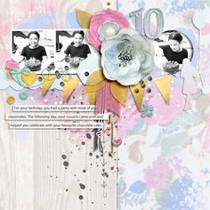 Hello All, CSI have just released their newest challenge for which The Nifty Pixel provided the fabulous sketch/template: My layout. Birthday Scrapbook Layouts, Digital Scrapbooking, Minnie Mouse, Disney Characters, Fictional Characters, Art, Art Background, Kunst, Performing Arts