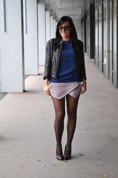 Skorts für den Herbst Modeblog Mekivi #skorts #zara #outfit