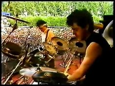 """WATCH: I can't describe what I felt when I first heard """"A Forest"""" by The Cure. The sound was so dark, relentless and sonically wonderful. I called my friend Charles Nolan over, and we played in 100 times. Here @ Werchter Festival, July 1981"""