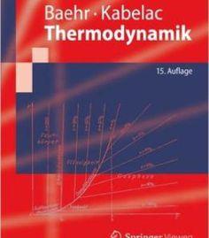 Thermodynamik: Grundlagen Und Technische Anwendungen PDF