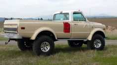 Chevy K50 Truck (aka Drill Sergeant) is ready for it's first car show - In class by itself.