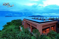 Sri Panwa Resort Phuket Thailand. One of the best 5 * Resorts & views in Phuket. Book with us: www.phuketgolfleisure.com #Phuket #Thailand #Golf #GolfThailand #Vacation #GolfPhuket #SriPanwa #Resort