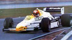 Mike Thackwell - Williamspédia - GP Séries
