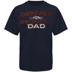 Denver Broncos Dad Father's Day T-Shirt