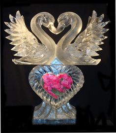 Ice Sculptures for Weddings and Events in South Florida, Ice carvings for Miami Dade, Fort Lauderdale, Broward & Palm Beach Snow And Ice, Fire And Ice, Ice Sculpture Wedding, Ice Images, Purple And Gold Wedding, Ice Art, Frozen Heart, Snow Sculptures, Map Pictures