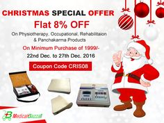We are here to make your #Christmas Extra Special by our Amazing #OFFER. Order Now & Get Flat 8% #OFF - http://www.medicalbazzar.com/