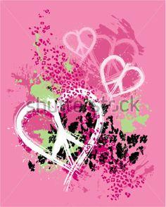 grunge-splattered-peace-heart-design-with-animal-print-background_73908580.jpg (361×450)