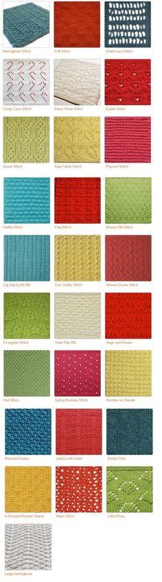 Loom Knit Stitches