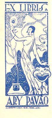 ≡ Bookplate Estate ≡ vintage ex libris labels︱artful book plates - Cultura e Conhecimento: Ex Libris