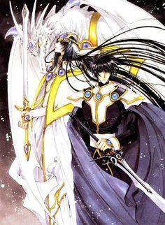 Magic knight Rayearth Zagato  Lantis  Latis