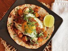 Breakfast Tacos with Crispy Potatoes, Chorizo, and Fried Egg by J. Kenji López-Alt