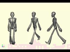 Pixar walk cycle