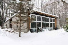 Make a Stylish Late-'60s Ski Home Yours for $235K Yes.
