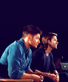 Jared and Jensen - will we ever get to watch this interview?!
