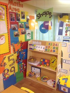 Maths area More. Maths Eyfs, Eyfs Classroom, Classroom Layout, Classroom Organisation, Classroom Activities, Maths Resources, Numeracy, Classroom Decor, Year 1 Maths