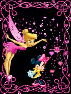 Tinkerbell And Friends, Tinkerbell Disney, Tinkerbell Fairies, Disney Fairies, Mickey Mouse And Friends, Disney Mickey, Disney Art, Tinkerbell Pictures, Minnie Mouse Pictures