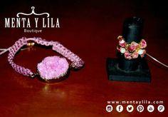 Tenemos una linda colección de pulseras hechas con hilos y piedras, son pulseras que están muy de moda y se pueden combinar con muchos looks para darle un toque más alternativo y trendy.  http://www.mentaylila.com/blog/9-mujeres/271-coleccion-pulseras-y-anillos