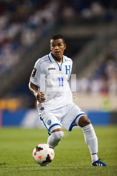 Honduras midfielder Rony Martinez (11). Honduras defeated Haiti 2-0 during a CONCACAF Gold Cup group B match at Red Bull Arena in Harrison, NJ, on July 8, 2013.