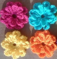 Flowers! Free Pattern from Snappy Tots