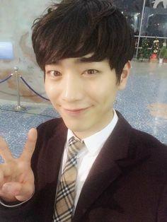 Seo Kang-Joon  런닝맨 촬영중에 교복입고~!! 6시 10분 SBS '런닝맨'에서 만나요^^  I wore school uniform while shooting 'Running Man'~!! Don't miss SBS 'Running Man' at 6:10 pm^^