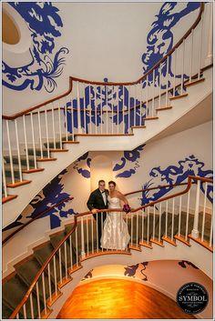 Wedding Stairs - - boston wedding photographer, boston engagement photographer, boston indian wedding photographer