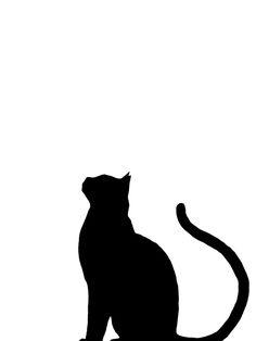 Cat Throw Pillow by zuccheroezenzero Animal Silhouette, Silhouette Art, Black Cat Silhouette, Cat Art Print, Framed Art Prints, Black Cat Art, Black Cat Drawing, Black Cat Tattoos, Cat Quilt