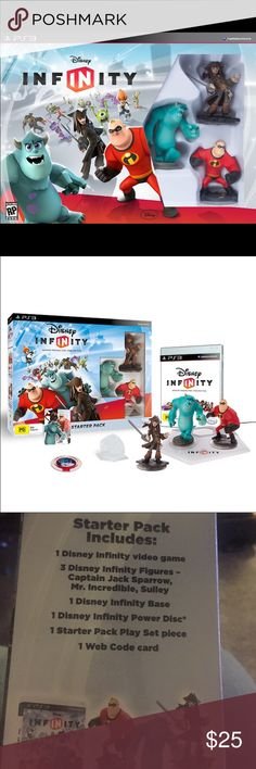 New PS3 Disney Infinity Stater Pack. PlayStation 3 Disney Starter Pack. Playstation Other