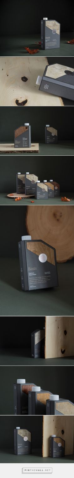 Basis Wood Care packaging (Student Project) by Daniel Lindqvist (USA) Packaging Dielines, Clever Packaging, Paper Packaging, Coffee Packaging, Bottle Packaging, Cosmetic Packaging, Brand Packaging, Packaging Design, Container Design