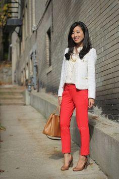 DIVINA EJECUTIVA: #Divitips - ¿Cómo combino pantalones fresa?