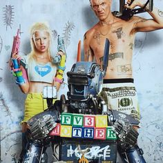 Die Antwoord in Chappie.