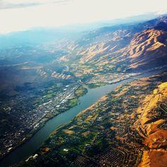 Aerial of Wenatchee