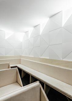 Tile Motif Creates Patterned Interior For Porto Dental Clinic By Ren Pepe Arquitetos - http://decor10blog.com/decorating-ideas/tile-motif-creates-patterned-interior-for-porto-dental-clinic-by-ren-pepe-arquitetos.html