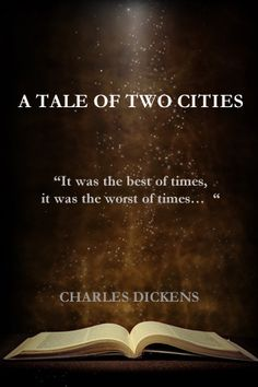 Dickens...wonderful account of history woven in a story.