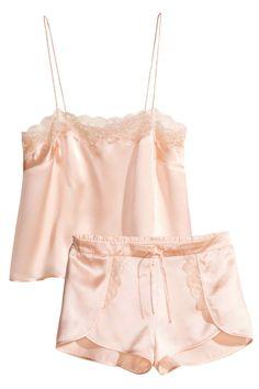 Pyjama en soie | H&M