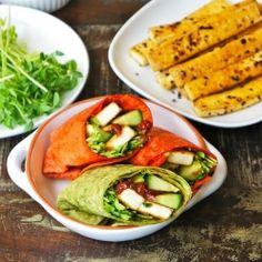 Tofu Wrap #foodgawker