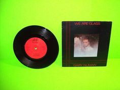 """Gary Numan – We Are Glass 7"""" Vinyl Record 1980 SynthPop Electronic Darkwave EX #GaryNuman #SynthPop #ElectronicMusic #1980s #Darkwave"""