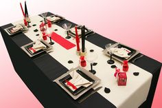 Décoration de table zen