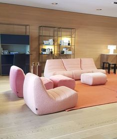 Michel Ducaroy design relaunched by Ligne Roset in indoor and outdoor specs Mid-century Interior, Interior And Exterior, Interior Design, Ligne Roset, Dining Furniture, Furniture Design, Living Room Inspiration, Contemporary Furniture, Floor Chair