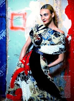 Vogue US Fevereiro 2015   Caroline Trentini por Mikael Jansson