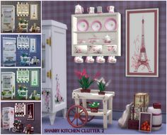 Sims 4 CC's - The Best: Shabby Kitchen Clutter Part 2 by pqsim4