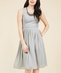 Another great find on #zulily! Dove Stay & Sway Midi Dress - Plus Too #zulilyfinds